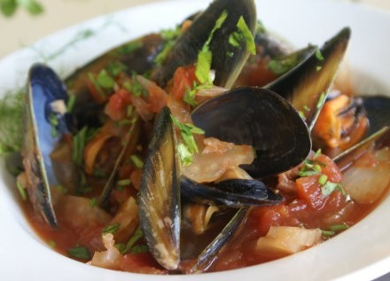 Spring Bay Mussels <br> Featured Special