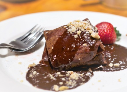 Featured Special - Chocolate, Ricotta & Hazelnut Crepes
