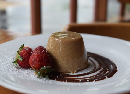 Chocolate Panna Cotta - Featured Special