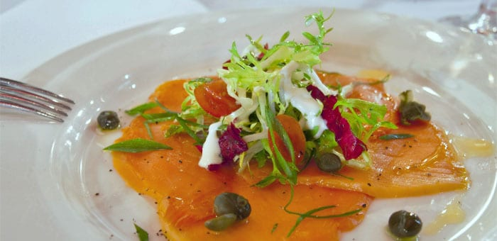 The Olive Tree Restaurant South Melbourne Smoked Salmon